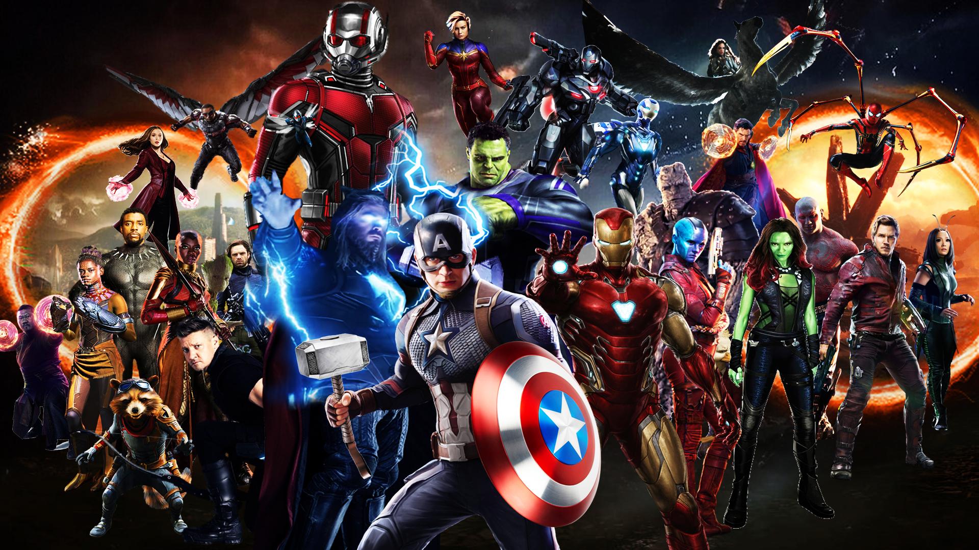 Avengers Endgame Wallpaper Desktop Posted By John Sellers