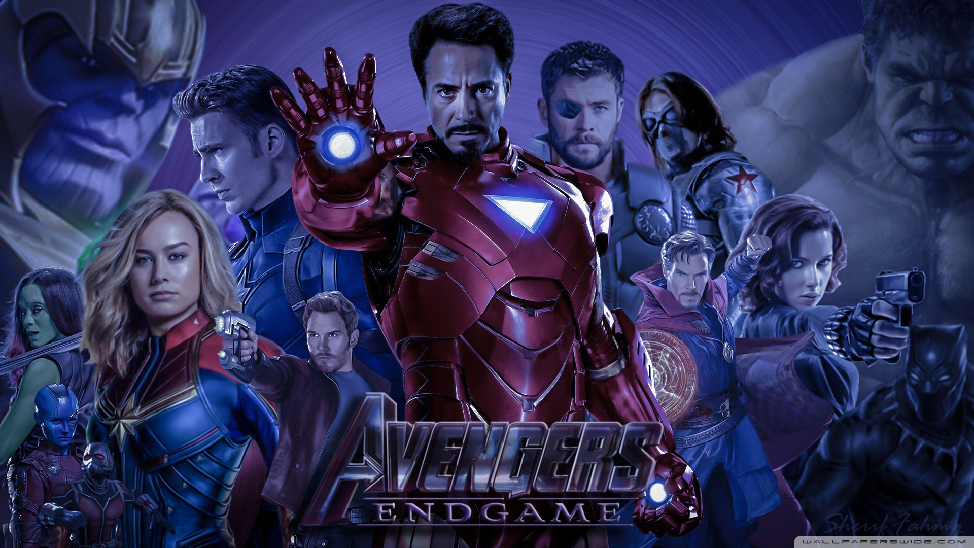 Avengers Endgame Wallpaper Posted By Ryan Thompson