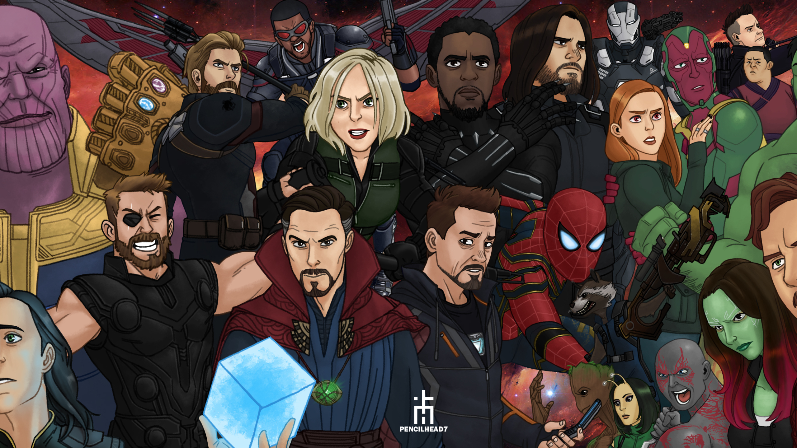 Avengers Infinity War Hd Wallpapers Posted By Sarah Mercado
