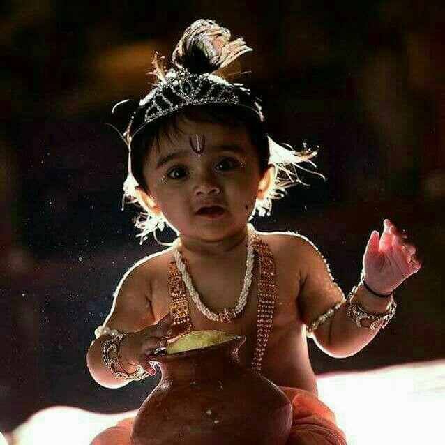 cute baby krishna Image by Abhilasha Thakur