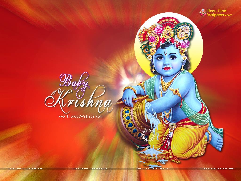Cute Baby Krishna Wallpapers Images Free Download