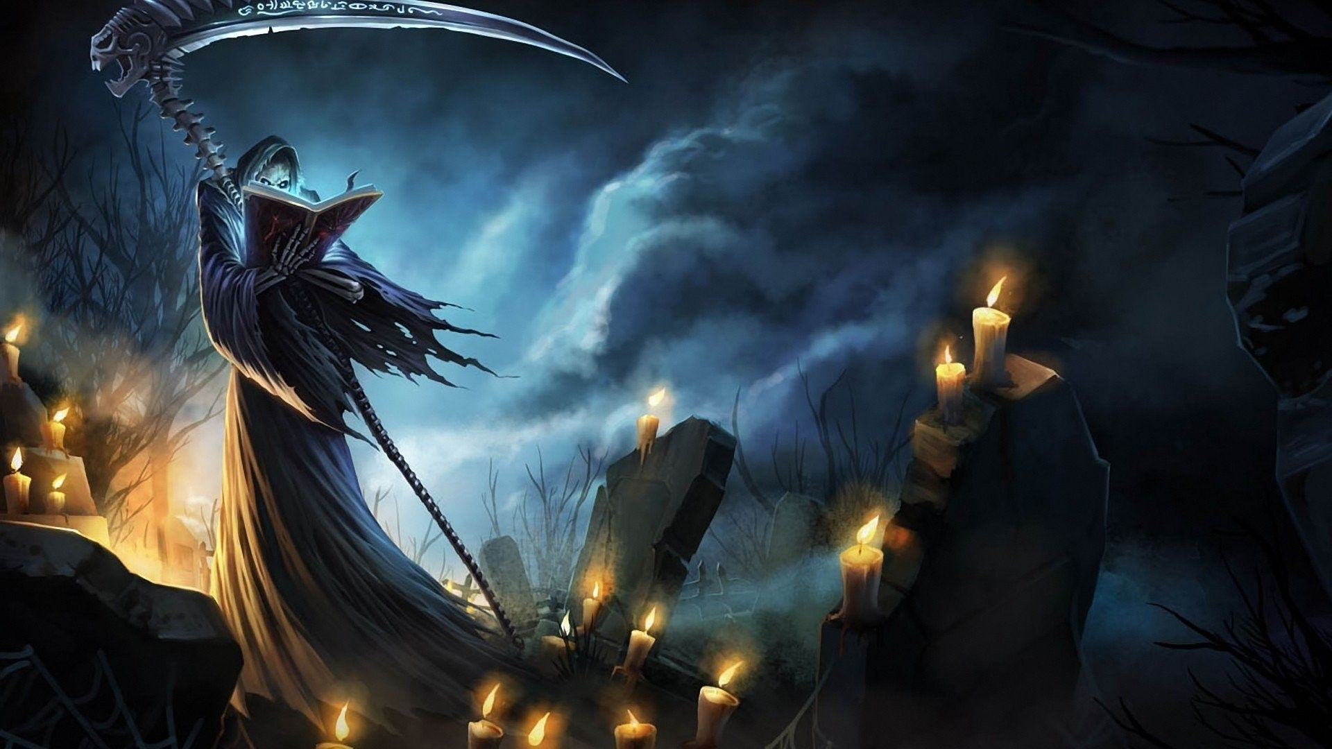 Badass Grim Reaper Wallpaper Posted By Ryan Walker