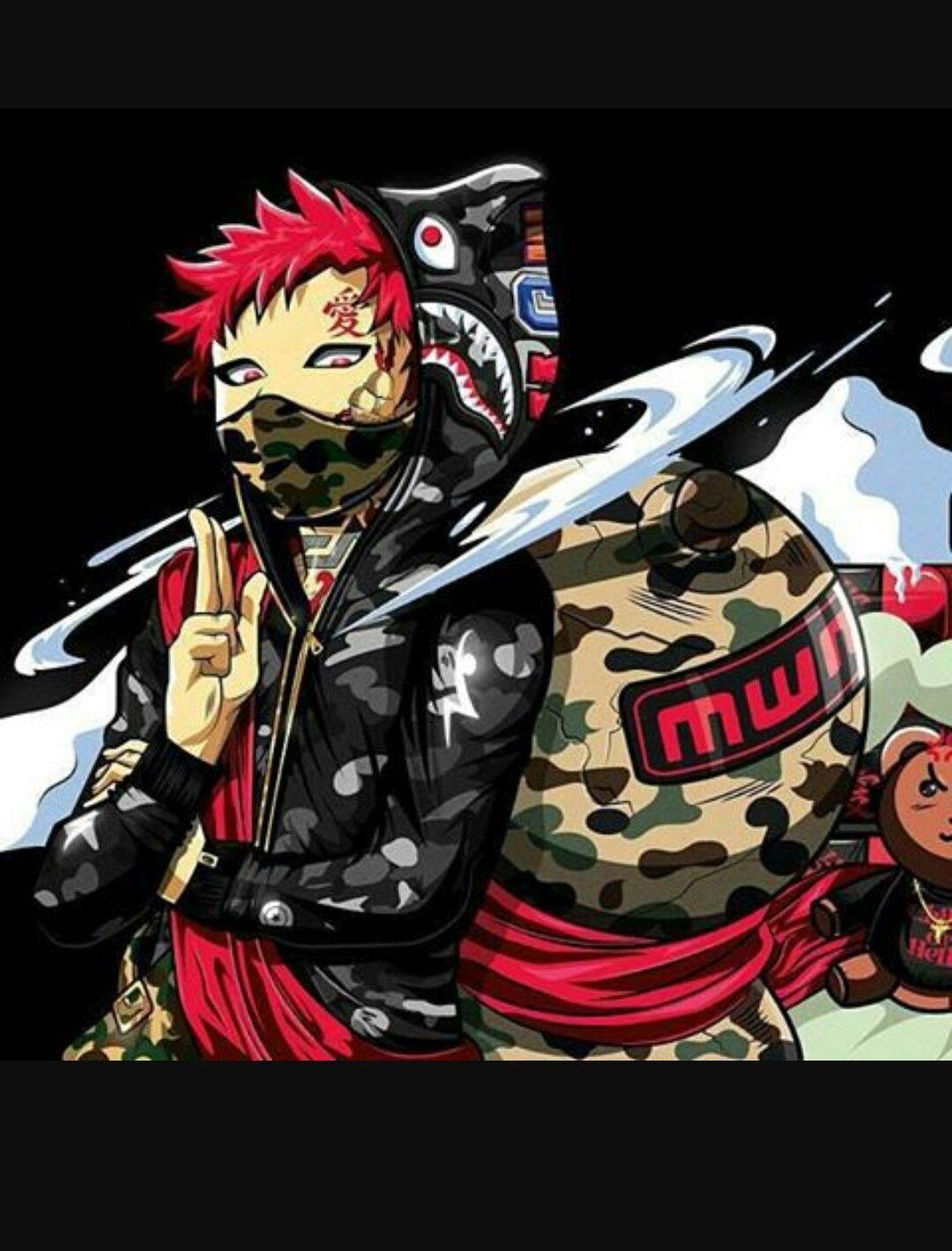 Pin by Anthony guimond on Badass art Black anime