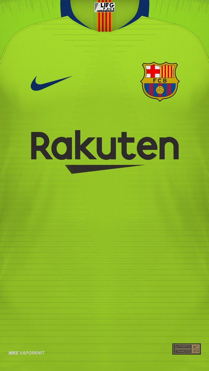 Download Fc Barcelona Jersey 2020/21 Wallpaper