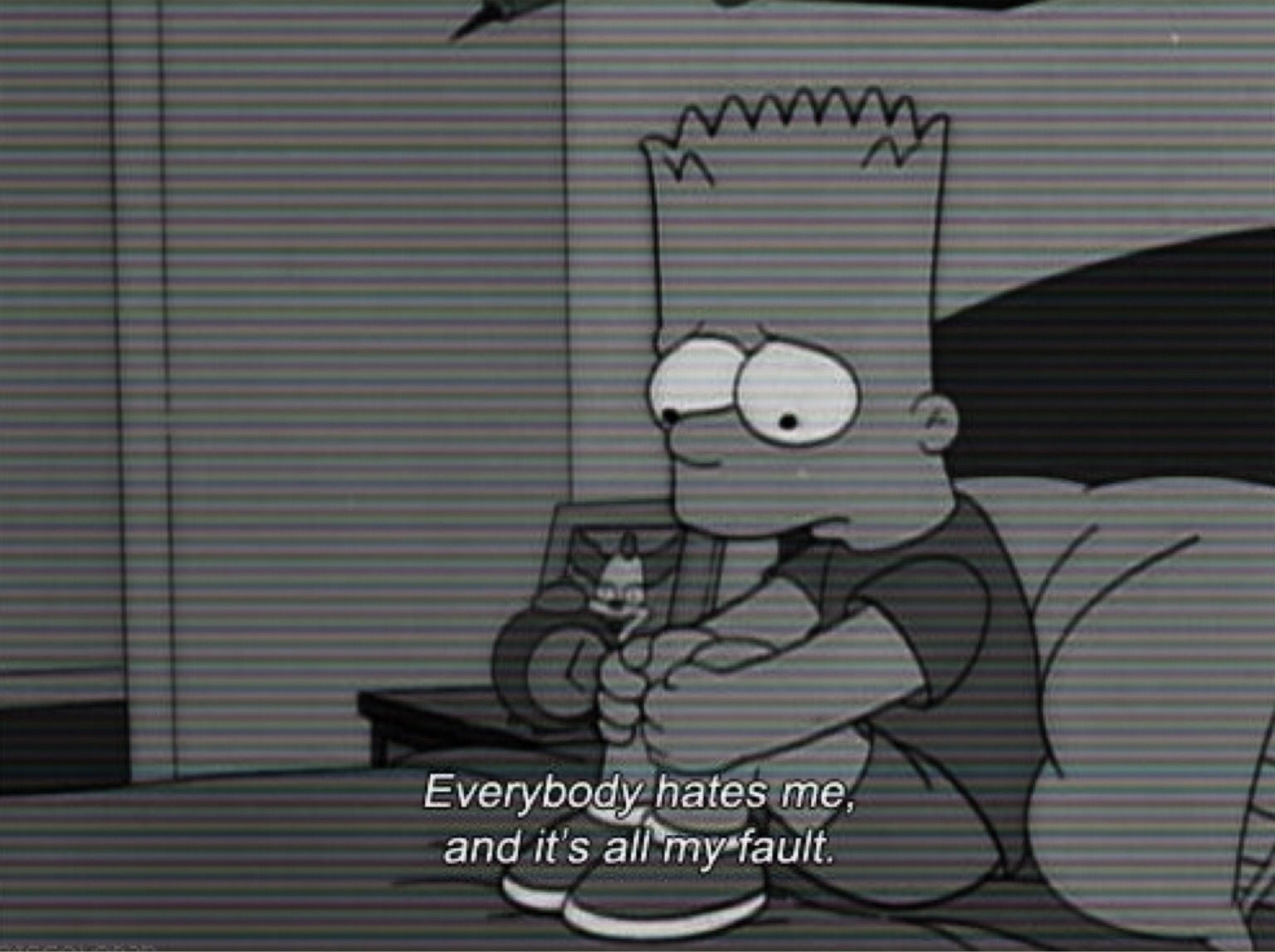 Bart Sad Wallpapers Posted By Sarah Walker