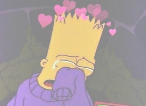 Simpsons Sad Aesthetic Wallpaper Bart Sad Gifs Tenor