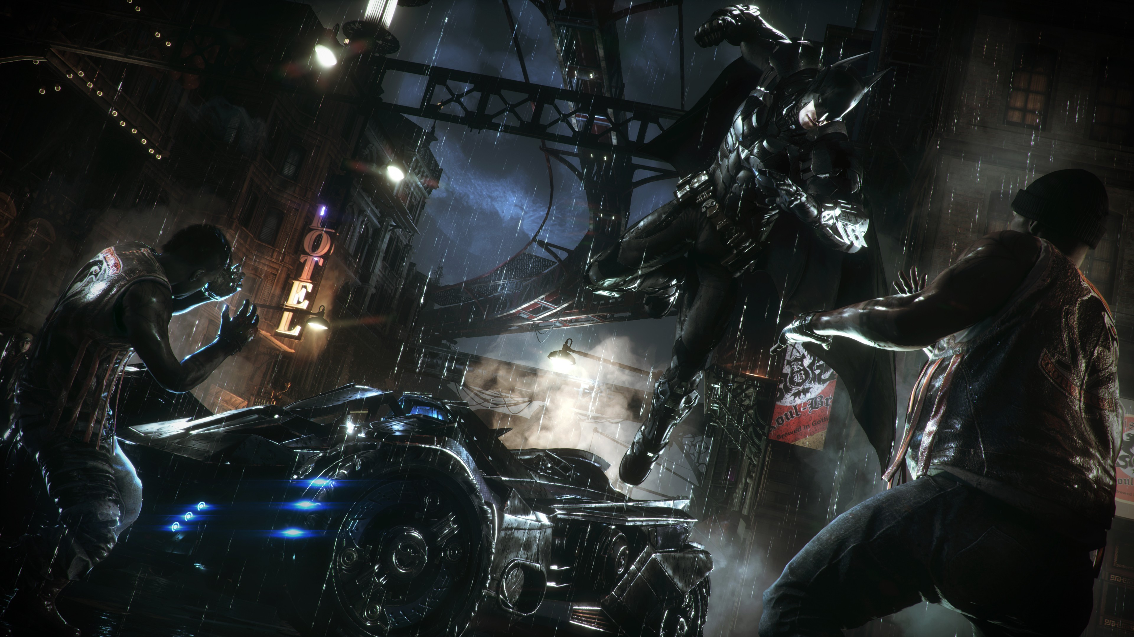Batman Arkham Knight 4k Wallpaper Posted By Michelle Sellers