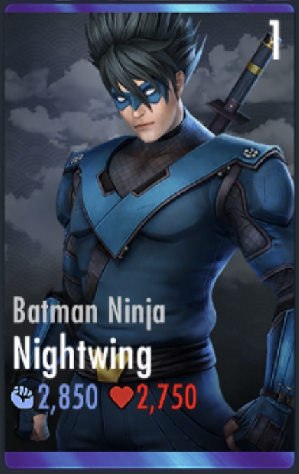 Batman Ninja Nightwing Posted By Sarah Walker