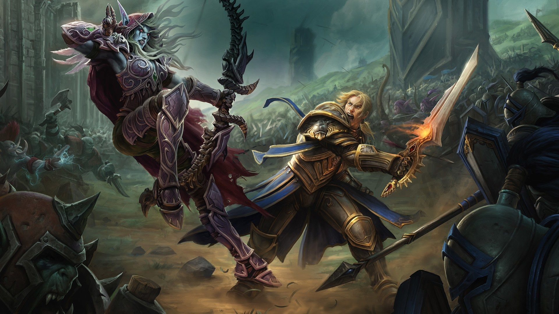 Battle For Azeroth 1920x1080 Posted By Ethan Tremblay