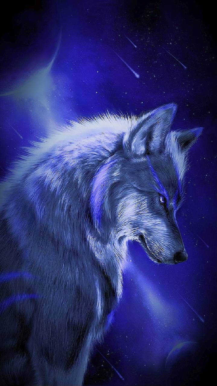 Anime Beautiful Wolf, Download Wallpapers on Jakpost.travel