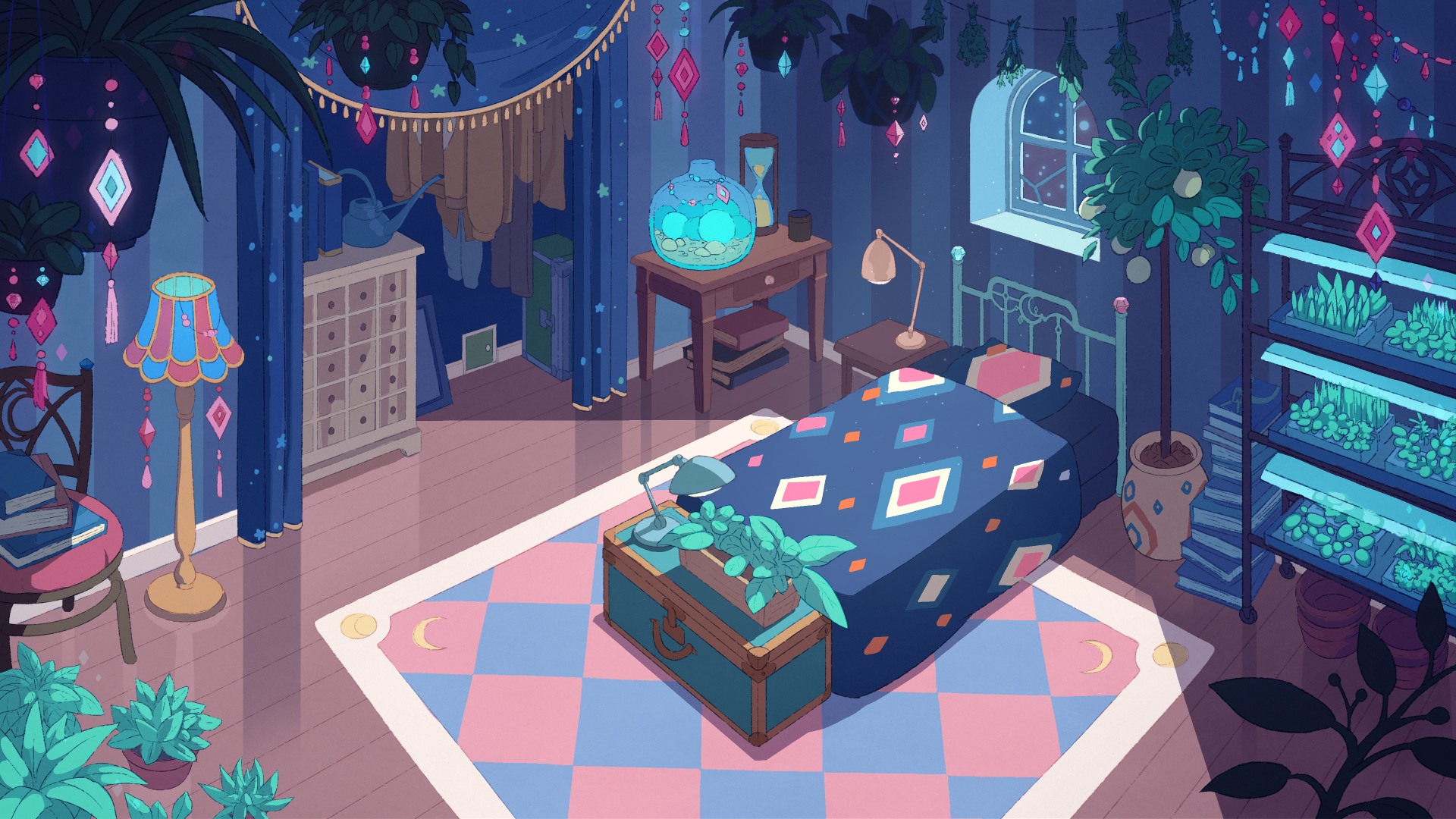Bee And Puppycat Backgrounds Posted By John Walker
