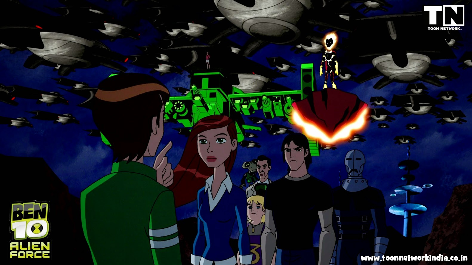 Ben 10 Alien Force Wallpapers Posted By Ryan Anderson