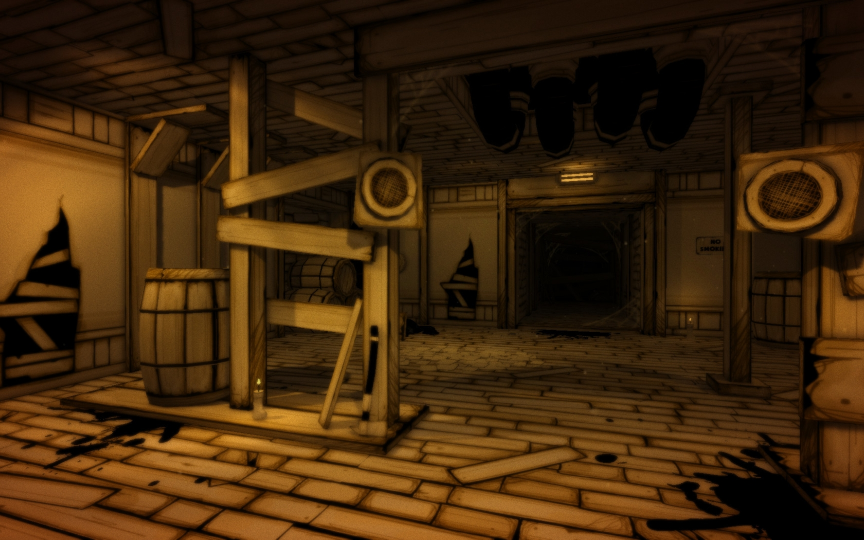Bendy And The Ink Machine Background Posted By Sarah Thompson