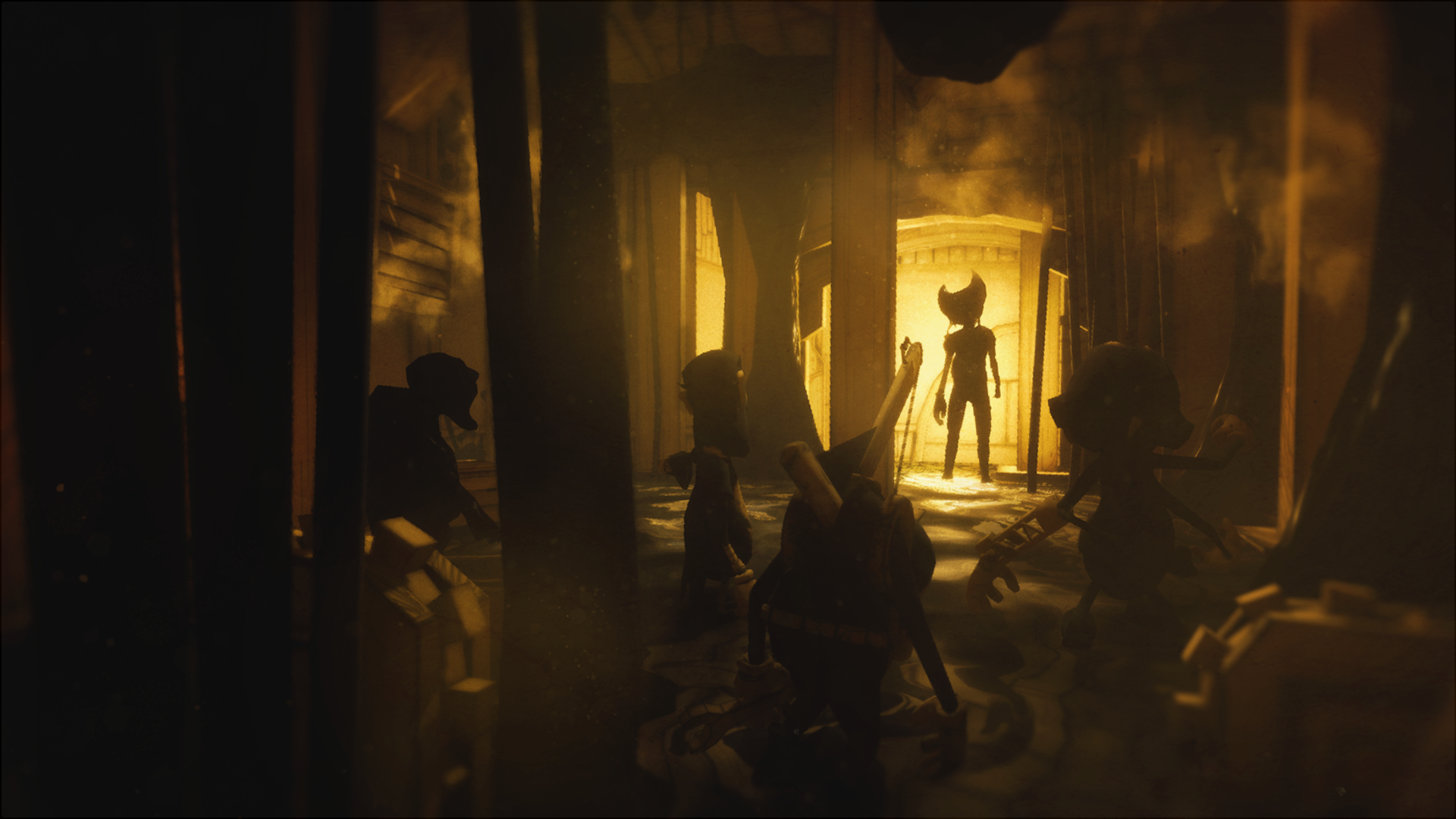 Bendy And The Ink Machine Hd Wallpapers Posted By Sarah Sellers