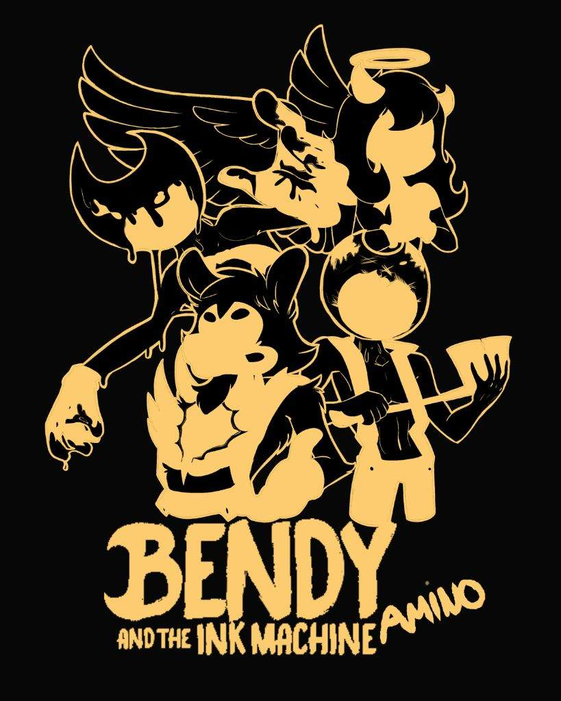 Bendy And The Ink Machine Logo Wallpapers Posted By Michelle Peltier