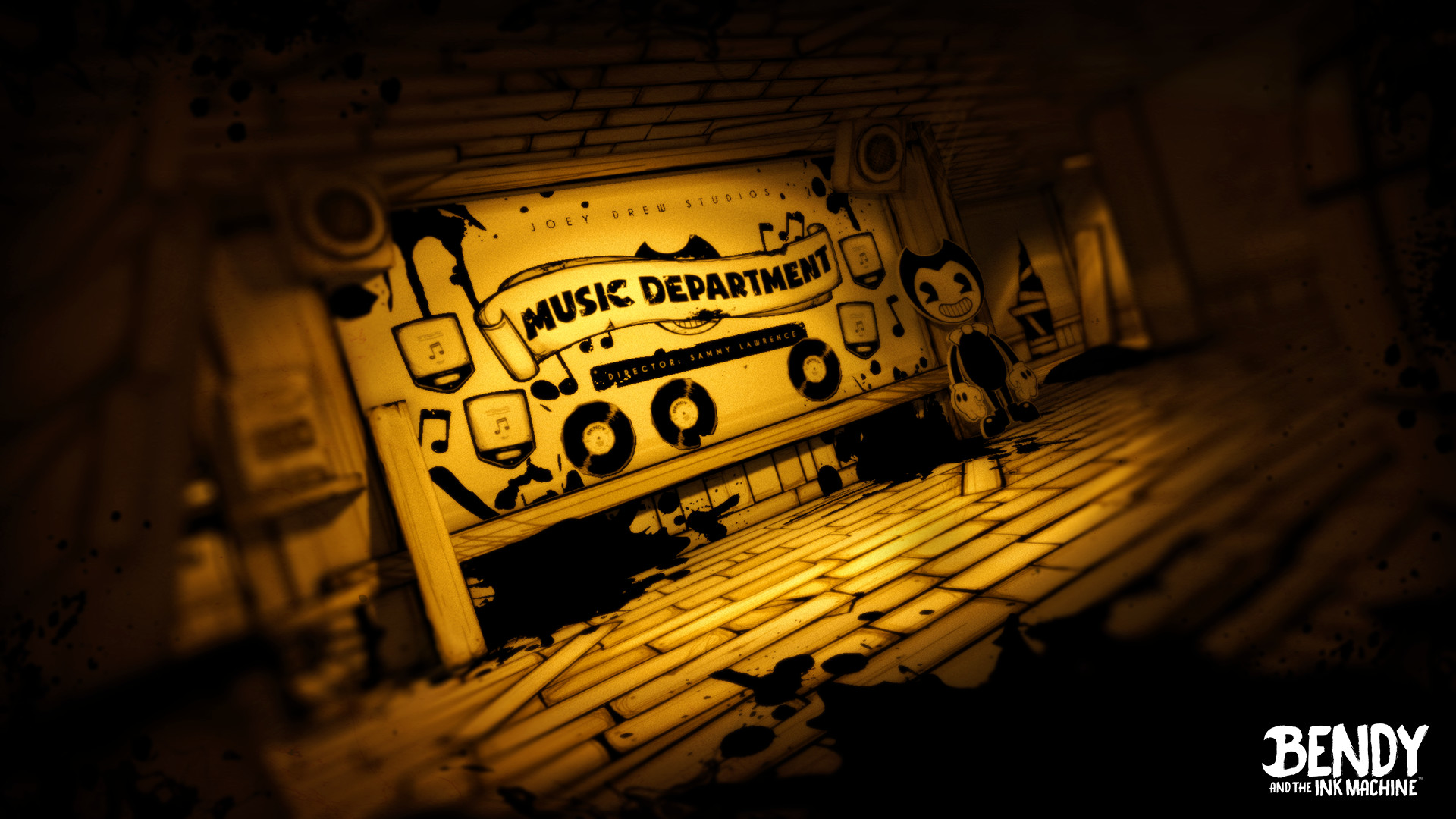 Bendy And The Ink Machine Wallpaper 1920x1080 Posted By John Johnson