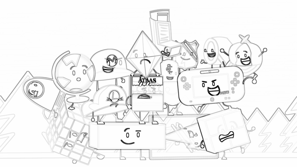Bfdi Coloring Pages Posted By John Cunningham
