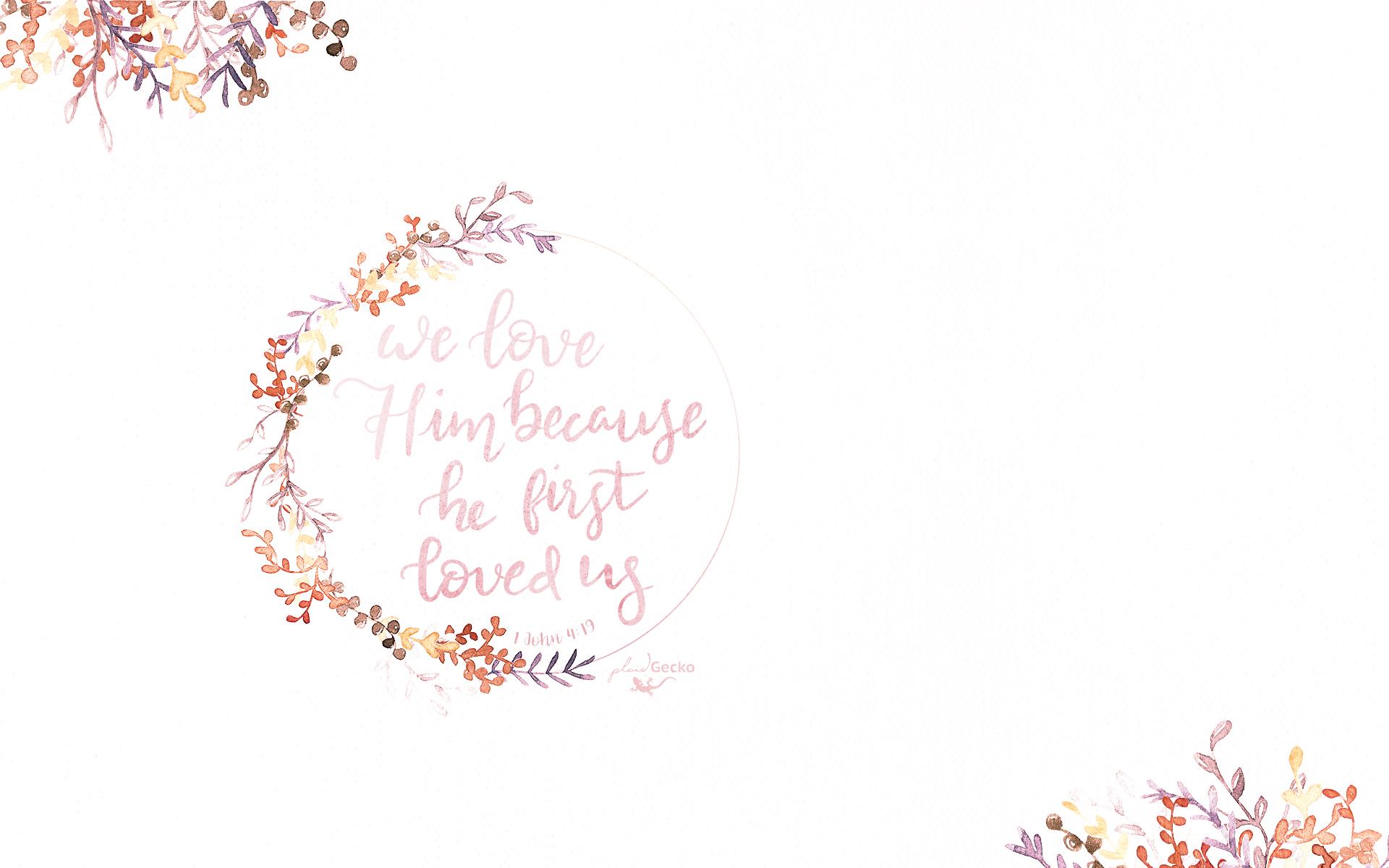 Floral Desktop Background Bible Verse Phone Wallpapers