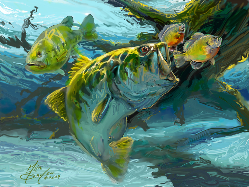 Big Bass Wallpaper Posted By Christopher Simpson