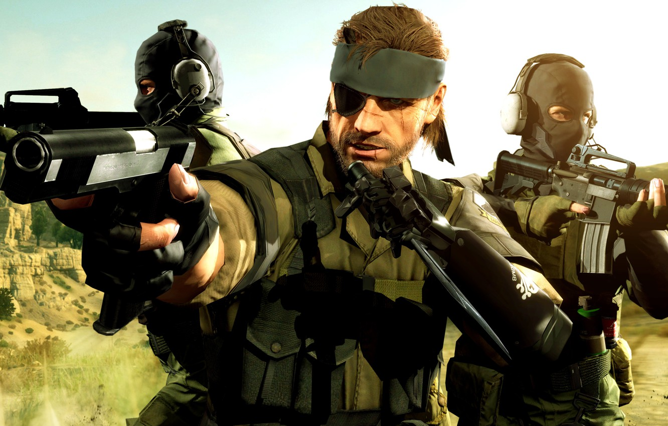 Big Boss Phantom Pain Wallpaper Posted By Zoey Simpson