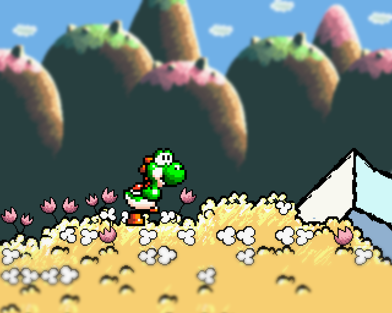 Big Yoshi Wallpapers Posted By John Peltier