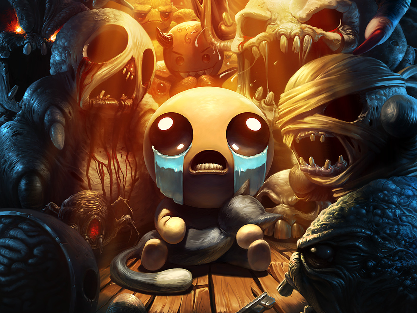 Binding Of Isaac Afterbirth Wallpaper Posted By John Simpson