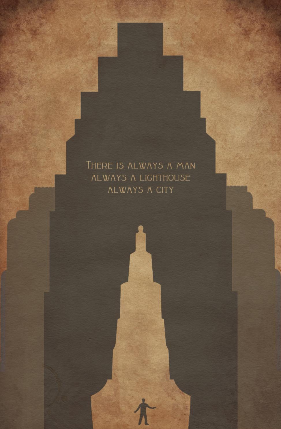 Wallpaper BioShock 2, Rapture, video games, minimalism