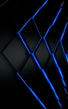 Black And Neon Blue Wallpaper Posted By Zoey Thompson