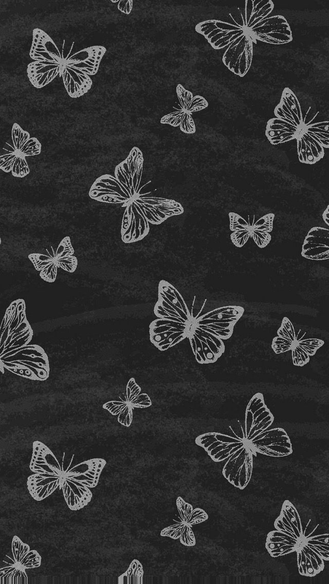 Black And White Butterfly Wallpaper Posted By Ethan Tremblay