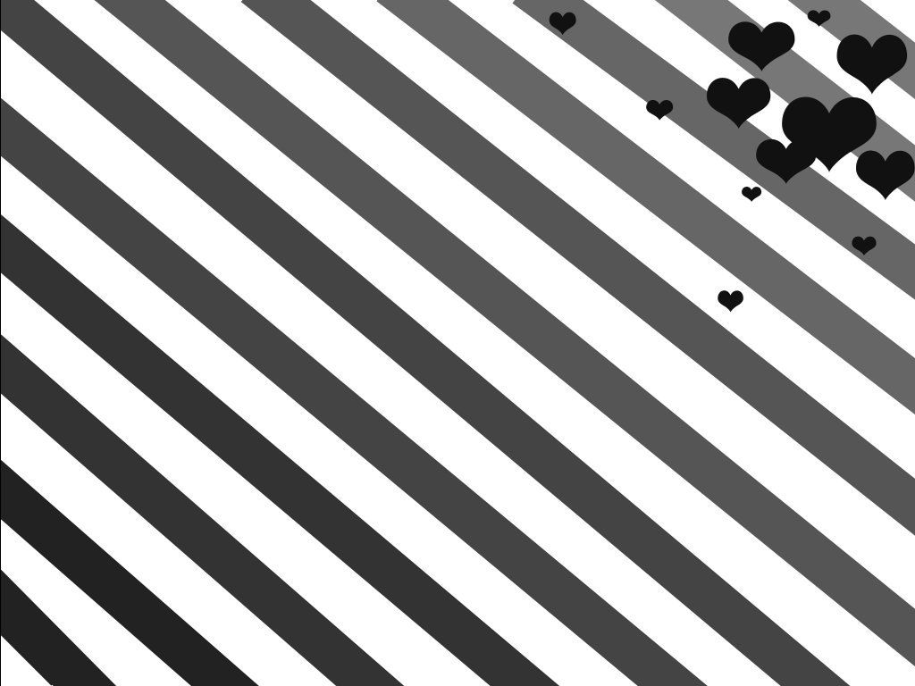 Black And White Heart Android Wallpapers, Black And White