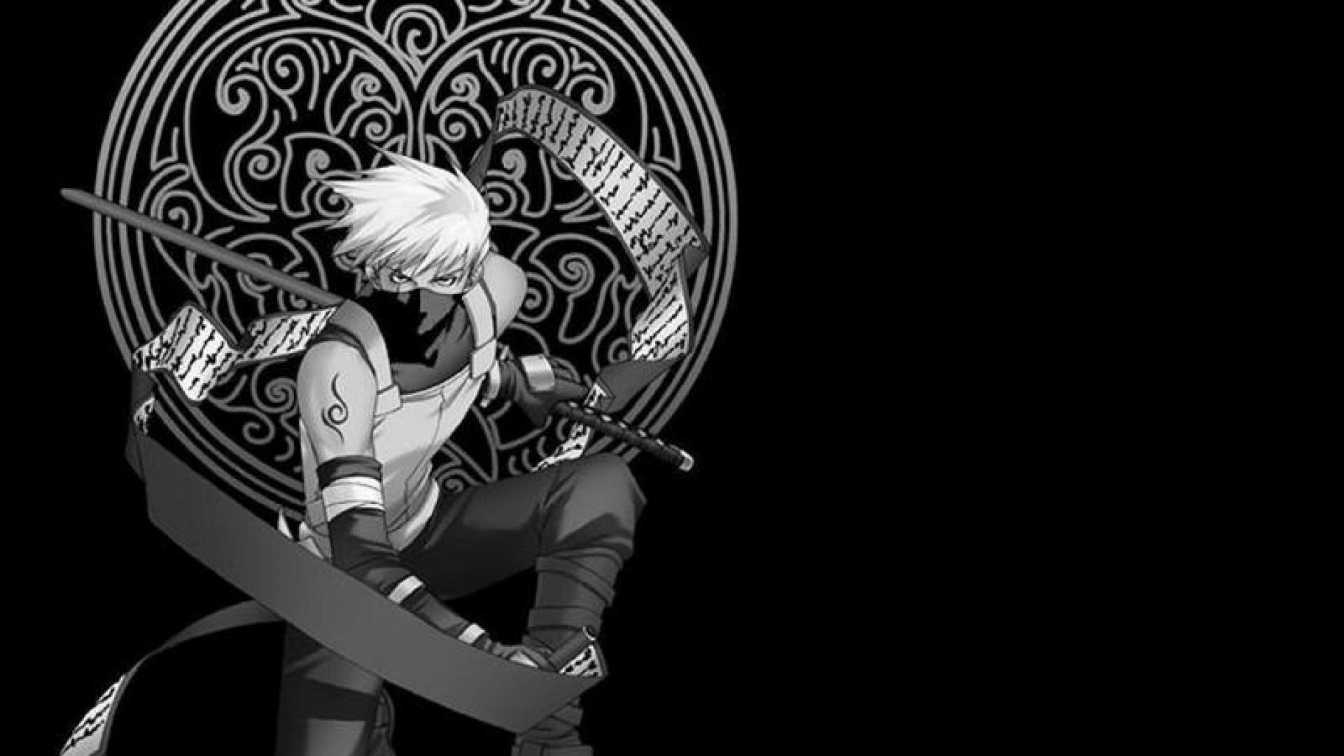 Black And White Naruto Wallpaper Posted By John Sellers