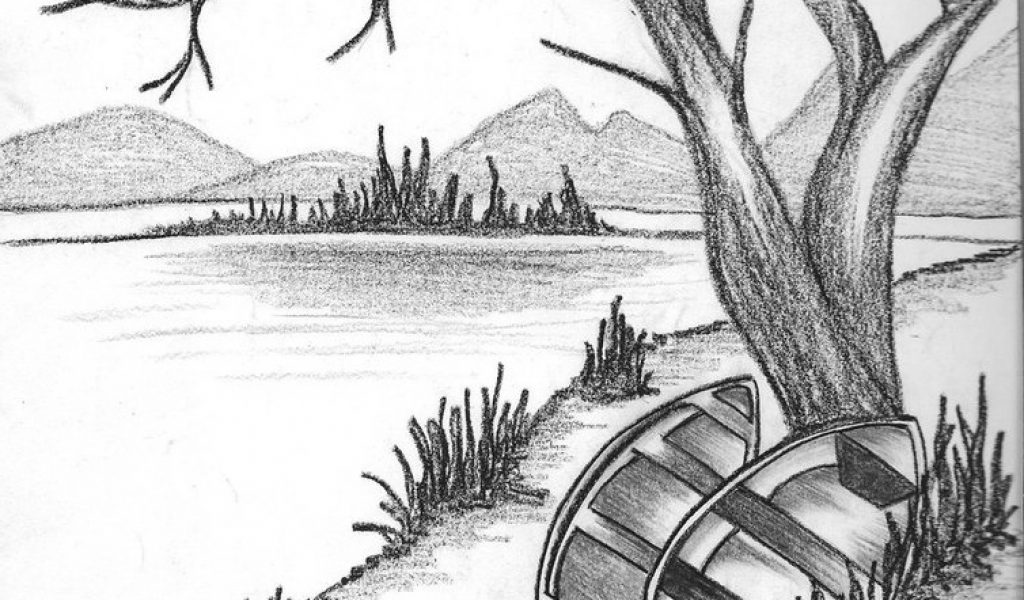 The Best Nature Background Drawing Pictures