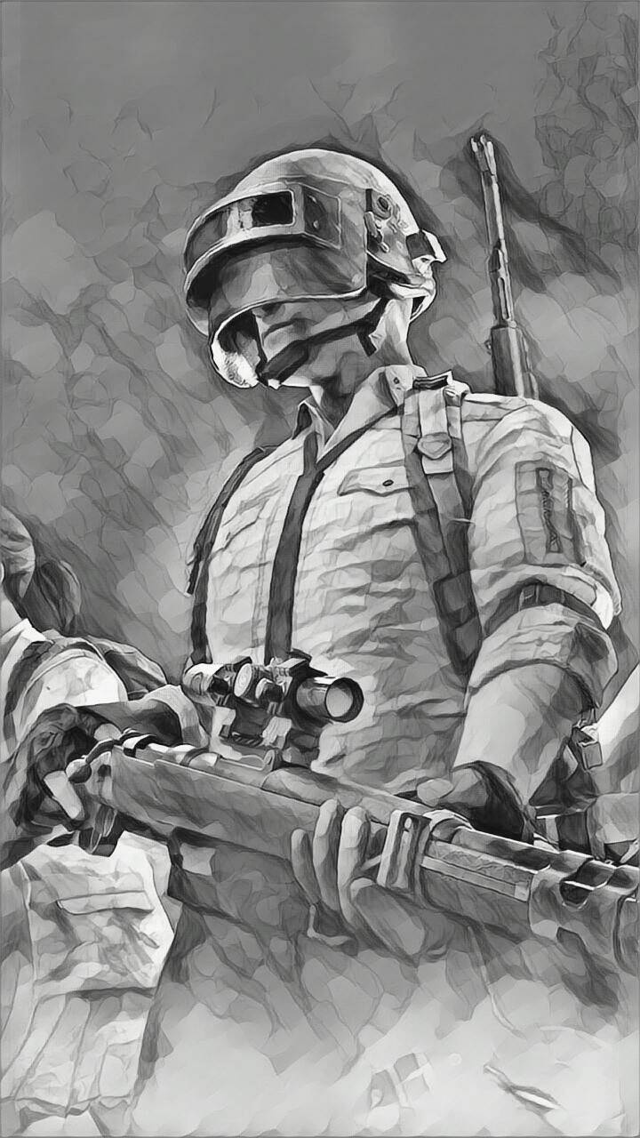 Black And White Pubg Wallpapers Posted By Zoey Mercado