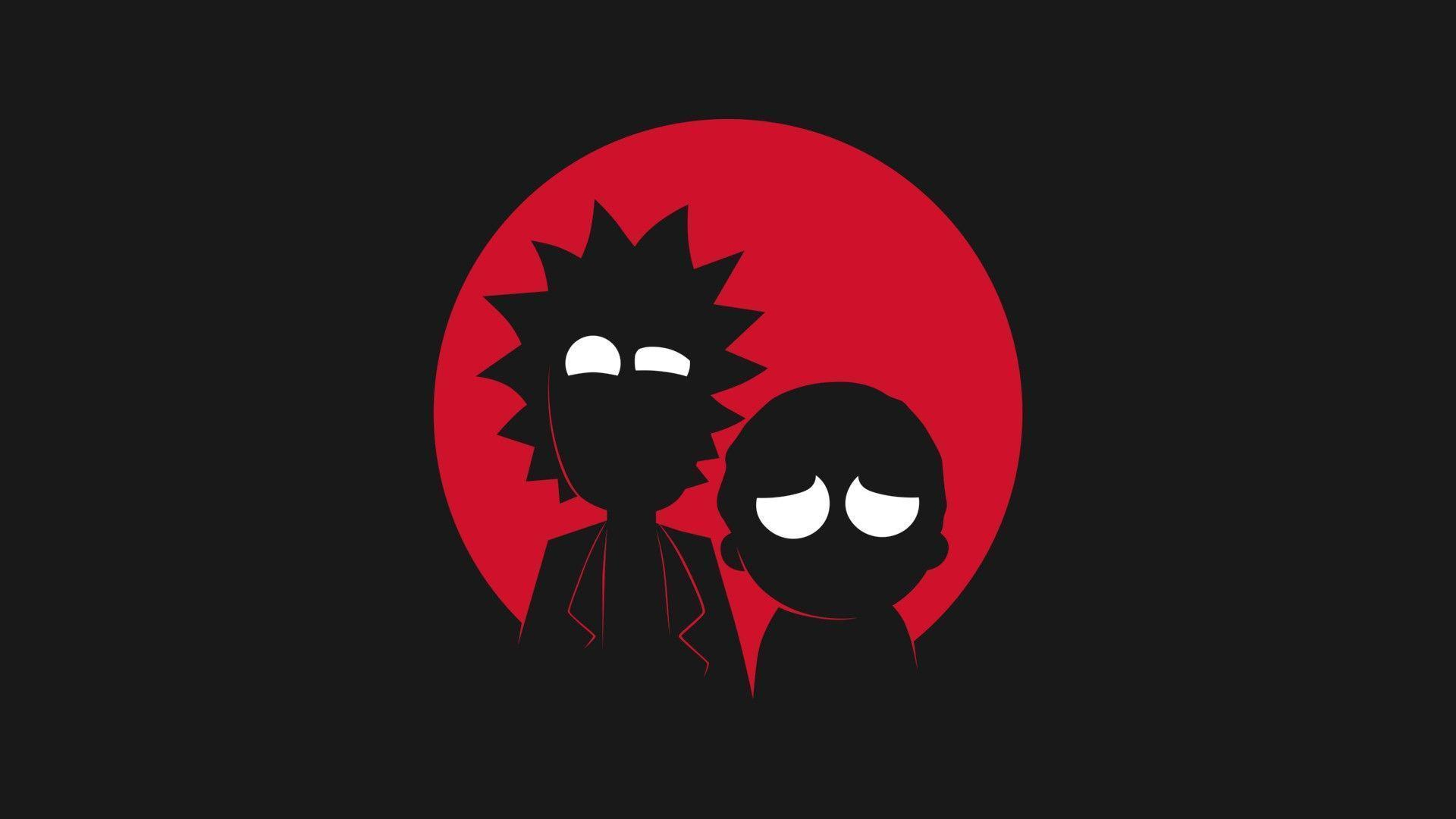 Black And White Rick And Morty Wallpaper Posted By Zoey Thompson