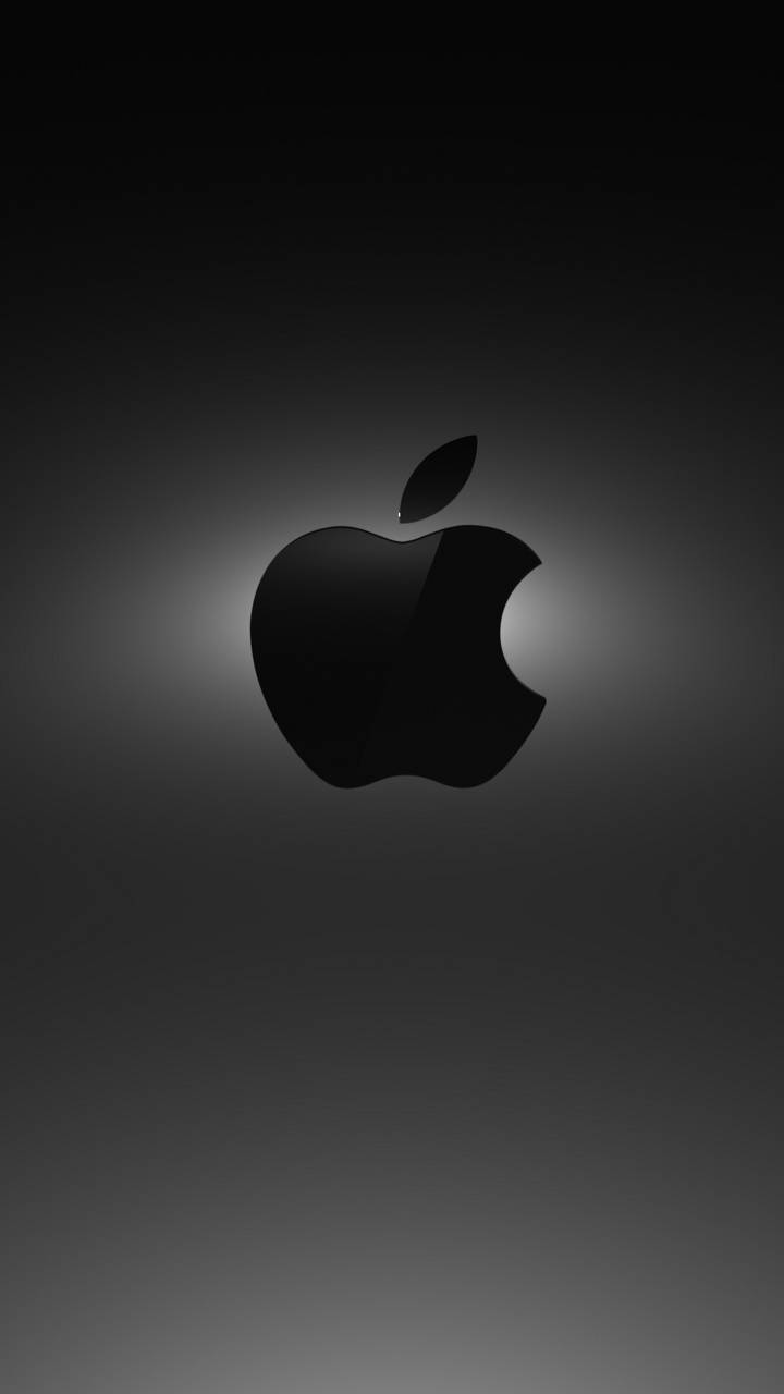 Black Apple Logo Wallpaper Posted By Zoey Sellers
