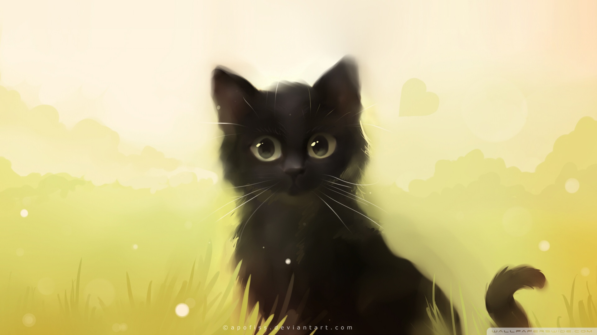 Black Cat Desktop Wallpaper Posted By Ryan Cunningham