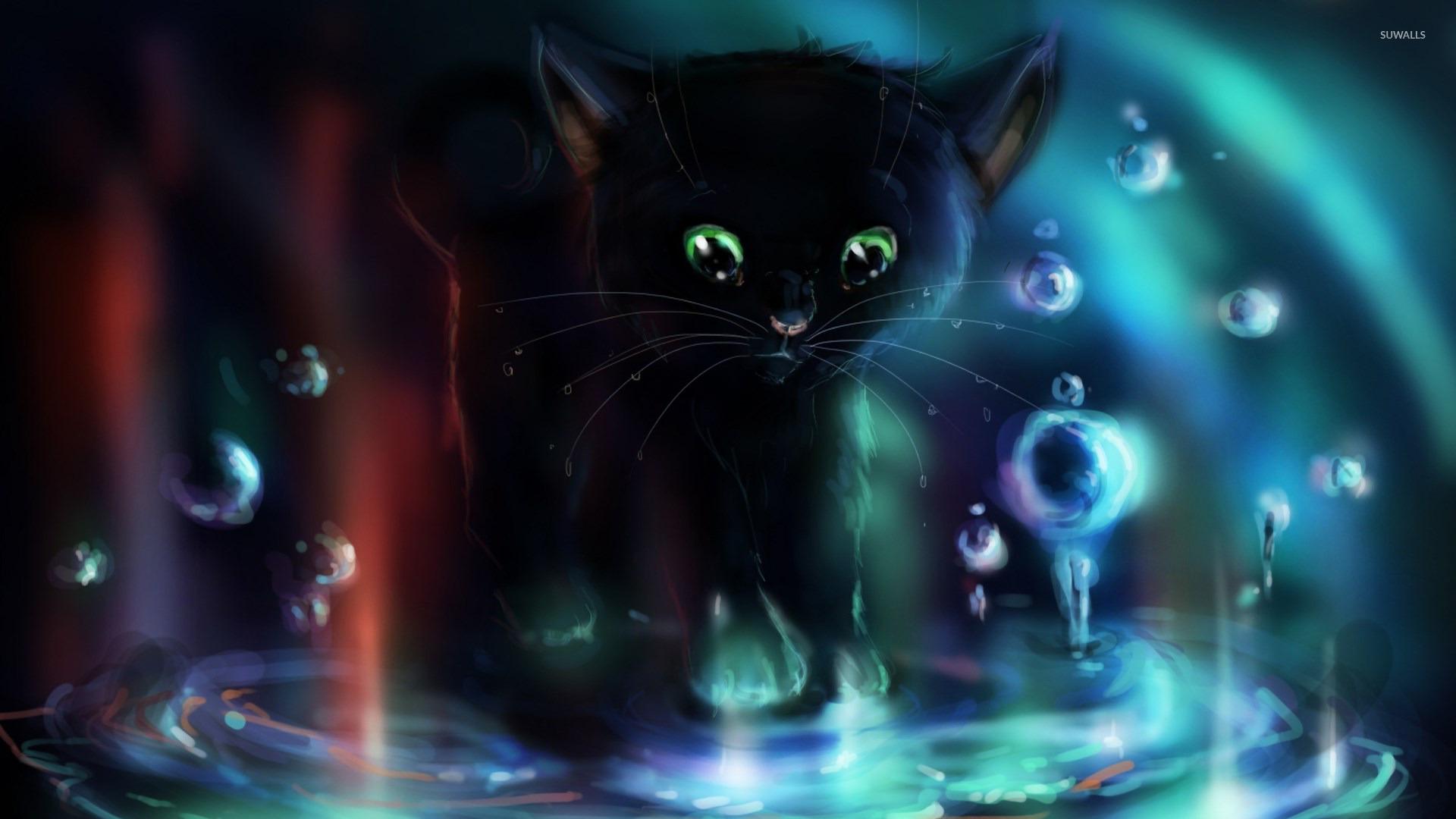 Cute Black Cat Halloween Desktop Backgrounds hd