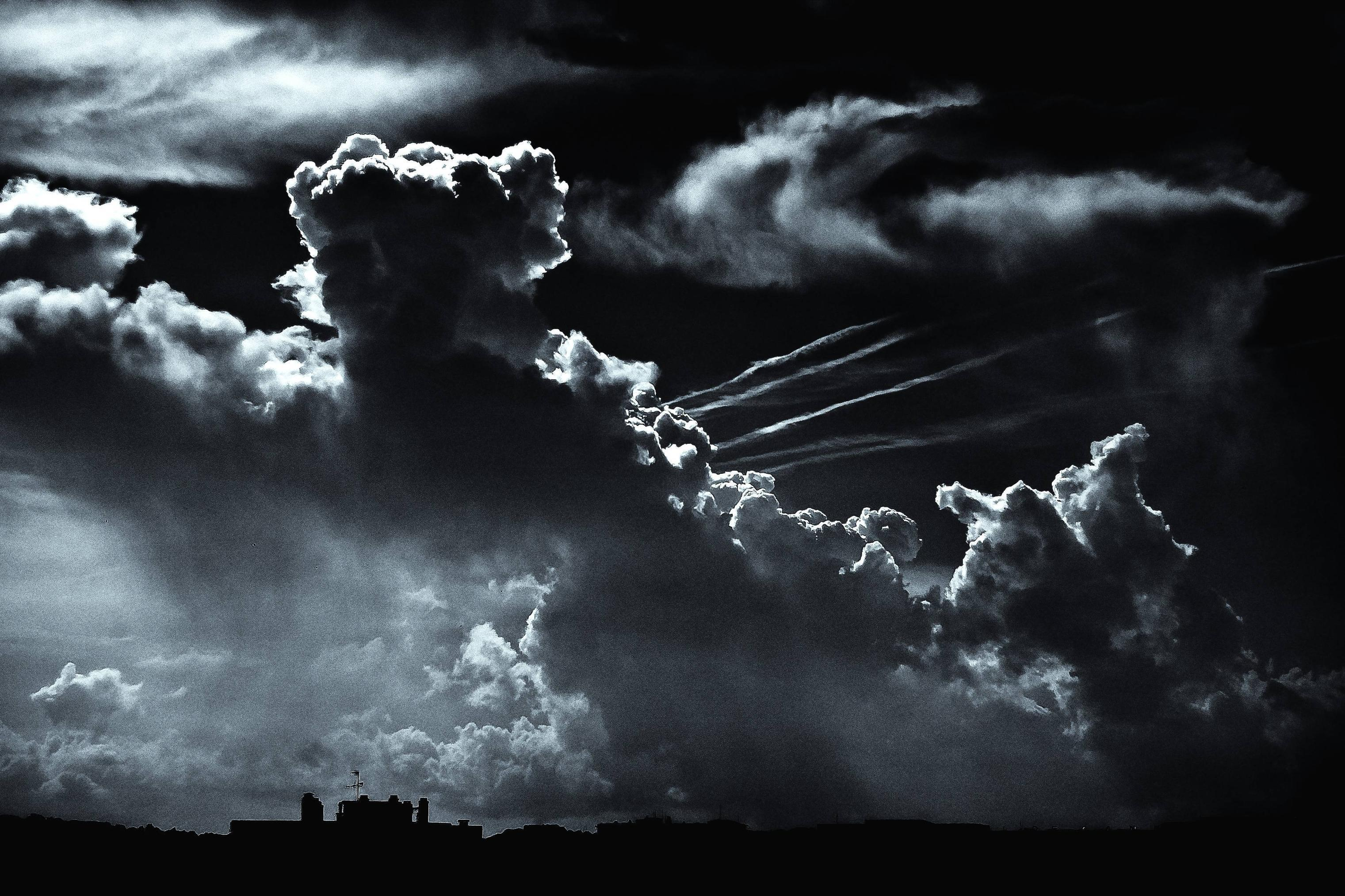 Black Clouds Wallpaper Posted By Christopher Thompson