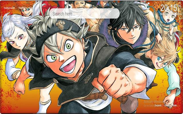 Black Clover Anime Wallpaper Posted By Ryan Peltier