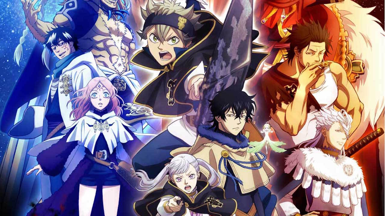 Black Clover Pc Wallpaper 1920x1080 104 Black Clover Hd