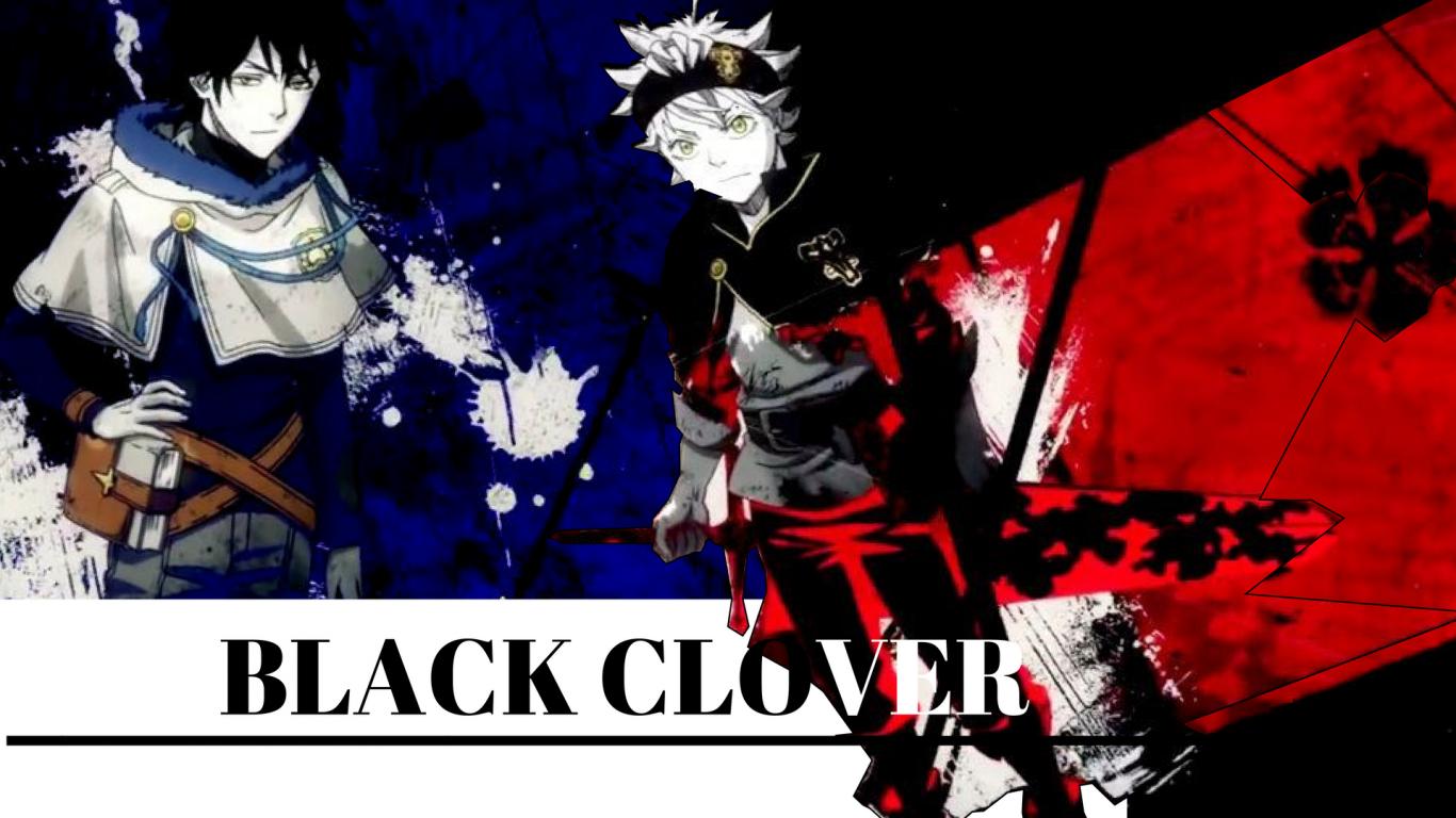 Black Clover Desktop Wallpaper Posted By Michelle Cunningham
