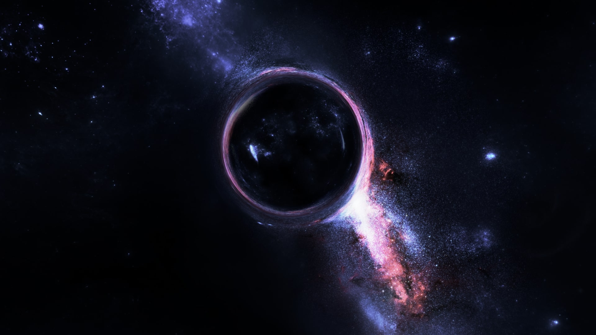 Wallpaper of Black Hole Space Galaxy background and HD image