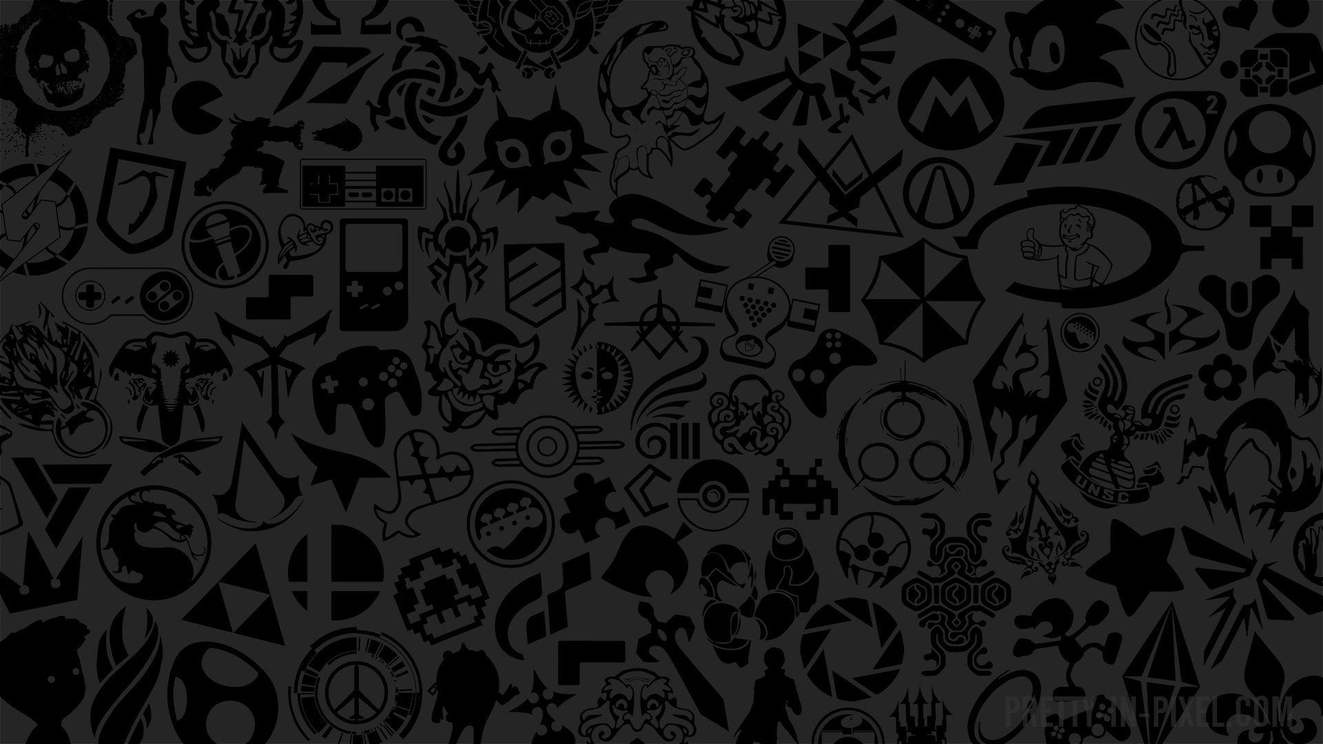 Black Gaming Wallpaper Posted By Ryan Walker