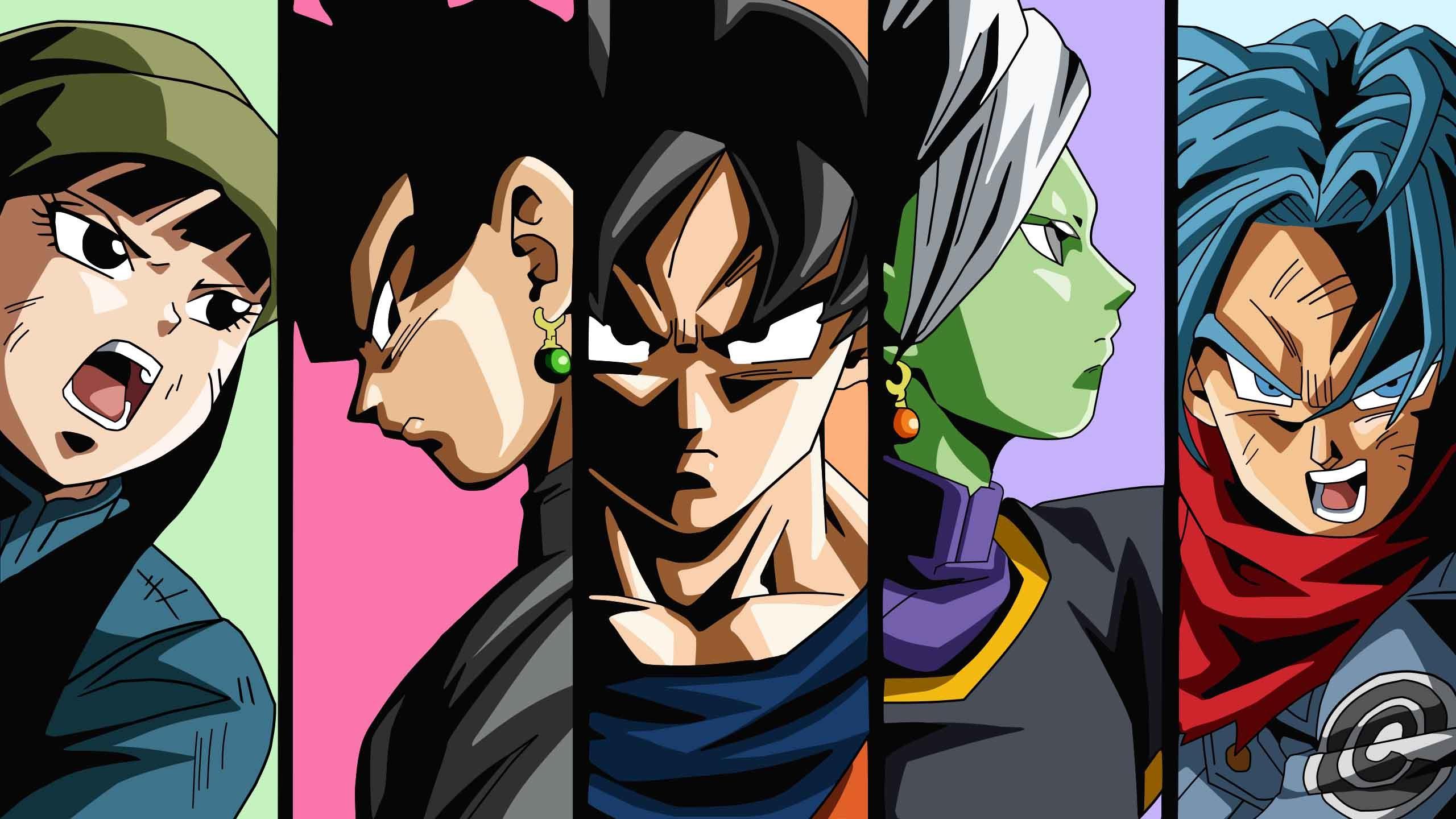 Black Goku Hd Wallpaper Posted By Michelle Peltier