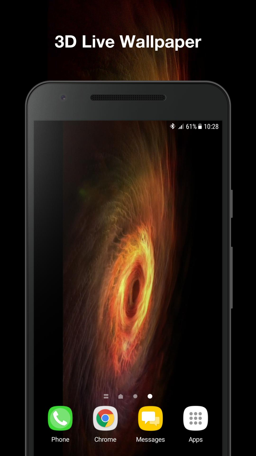 Android Black Hole Live Wallpaper Black Wallpaper
