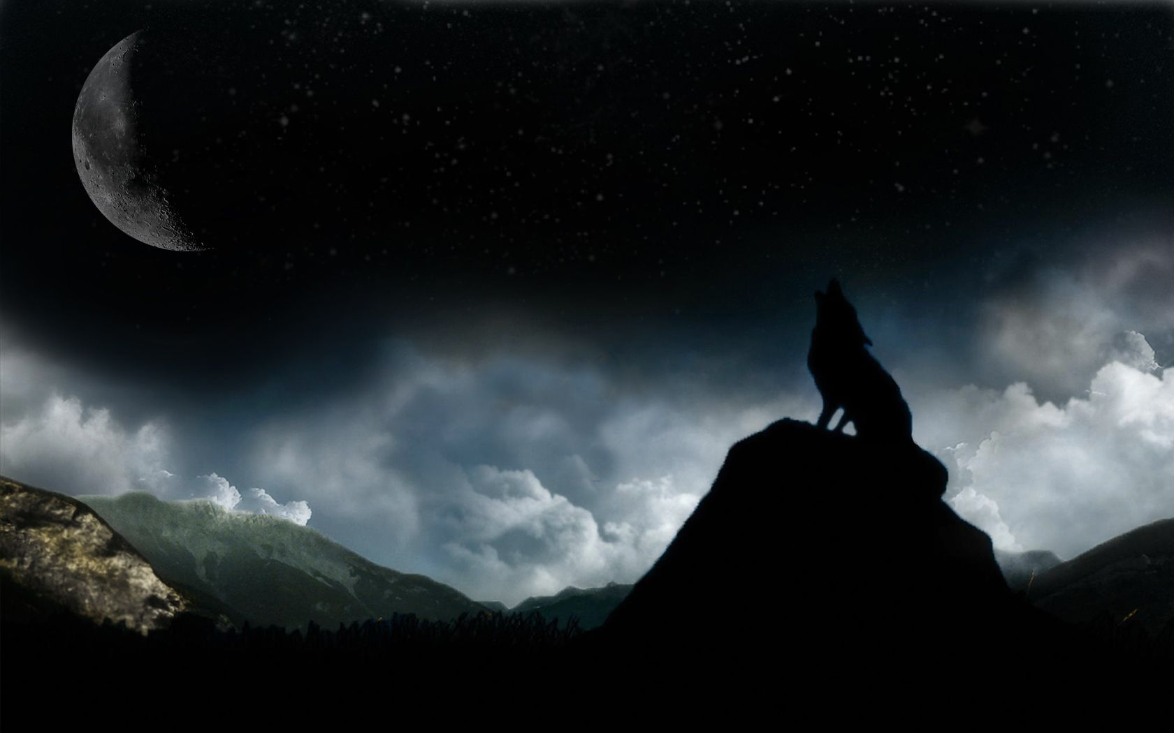 Black Moon Wallpaper Hd Posted By Samantha Cunningham