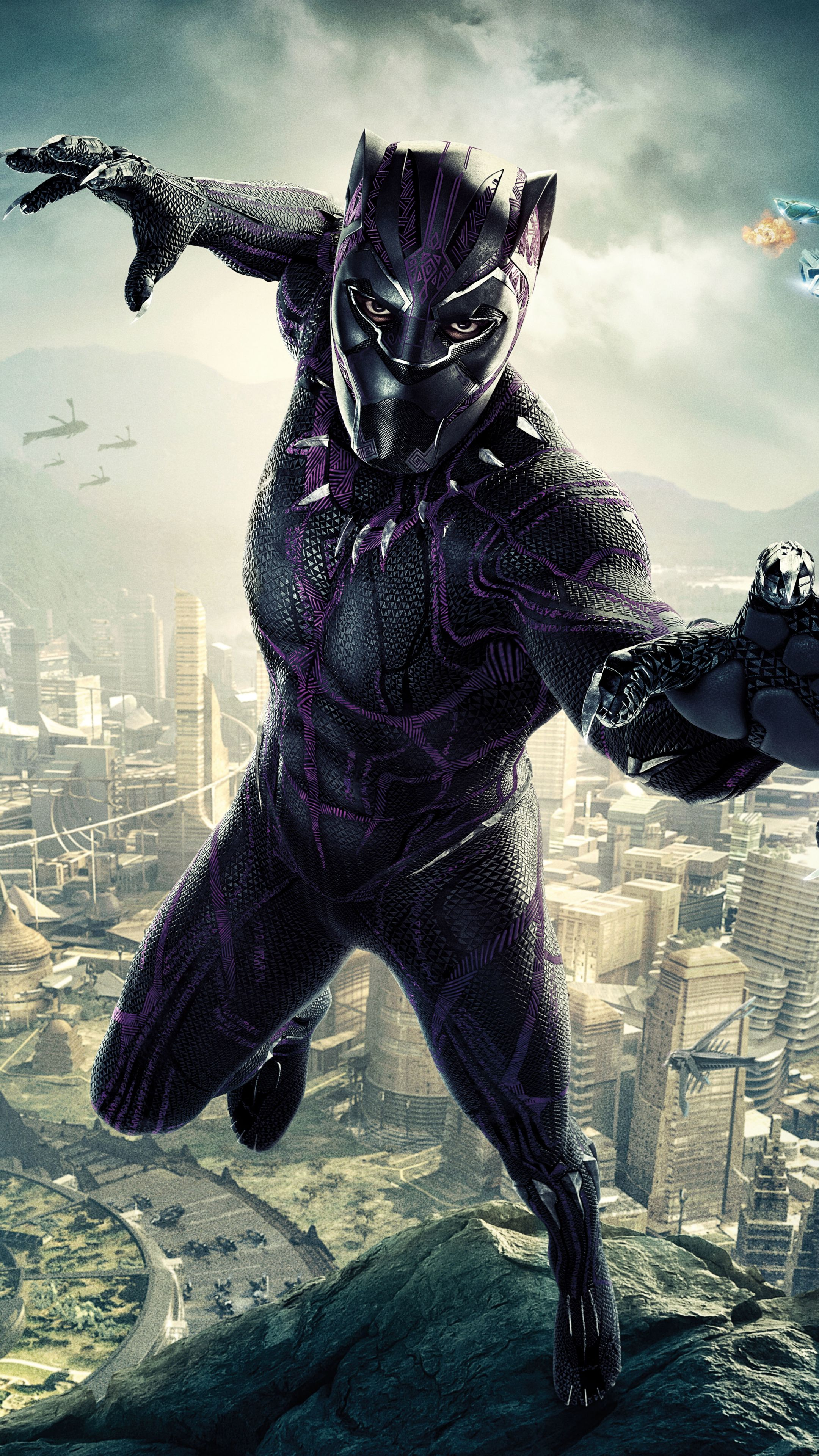 Black Panther 4k Wallpaper Posted By John Anderson