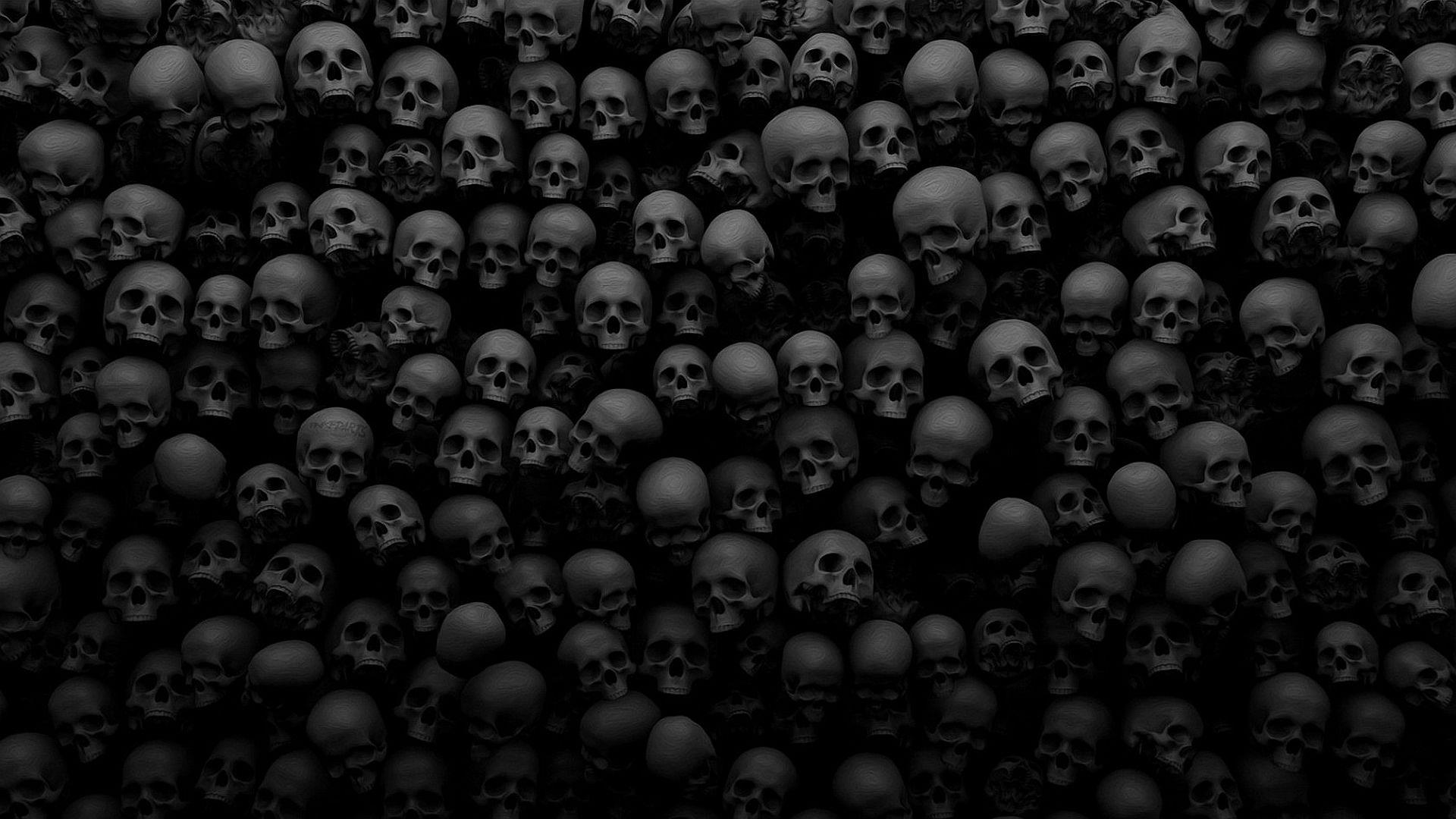 Black Skull Wallpaper Posted By John Mercado