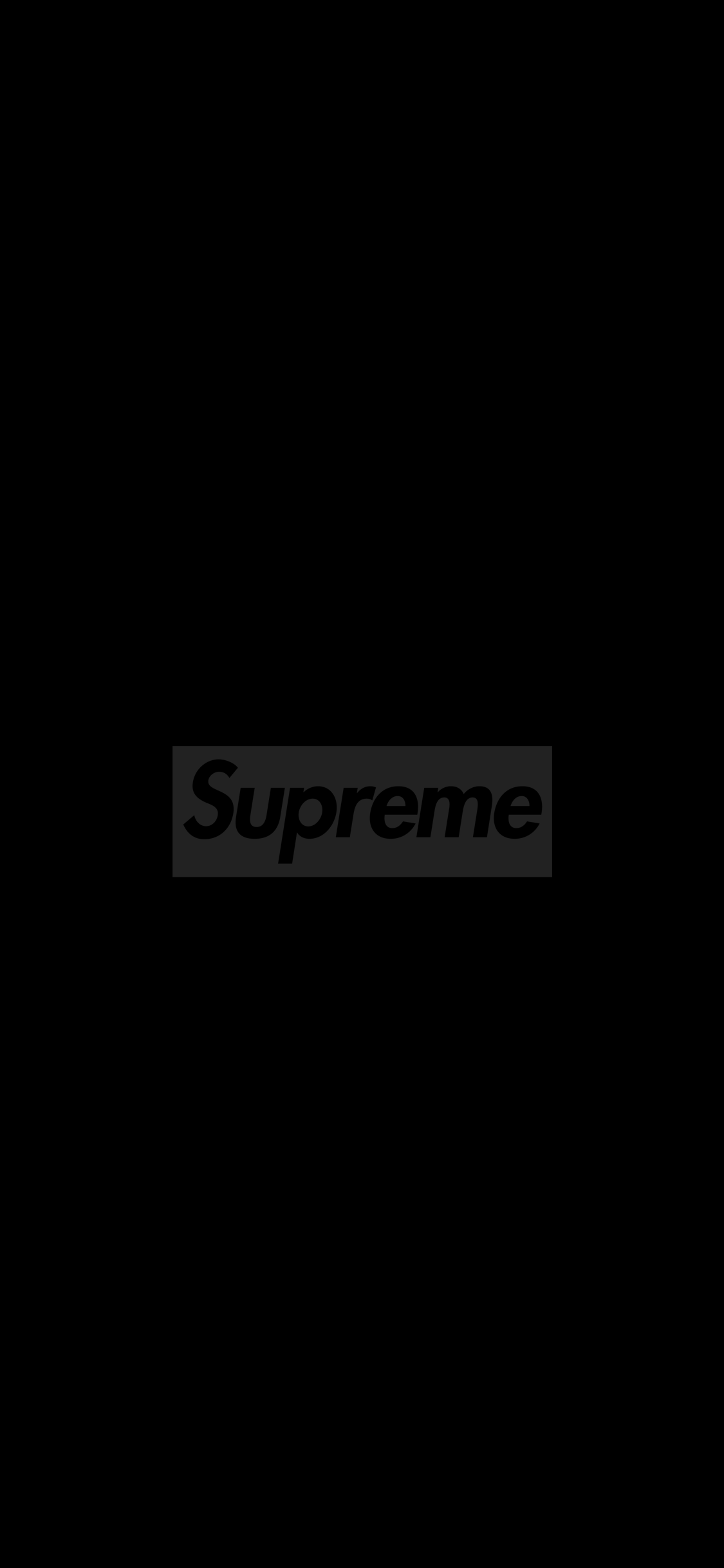 Black Supreme Wallpaper Posted By Christopher Johnson