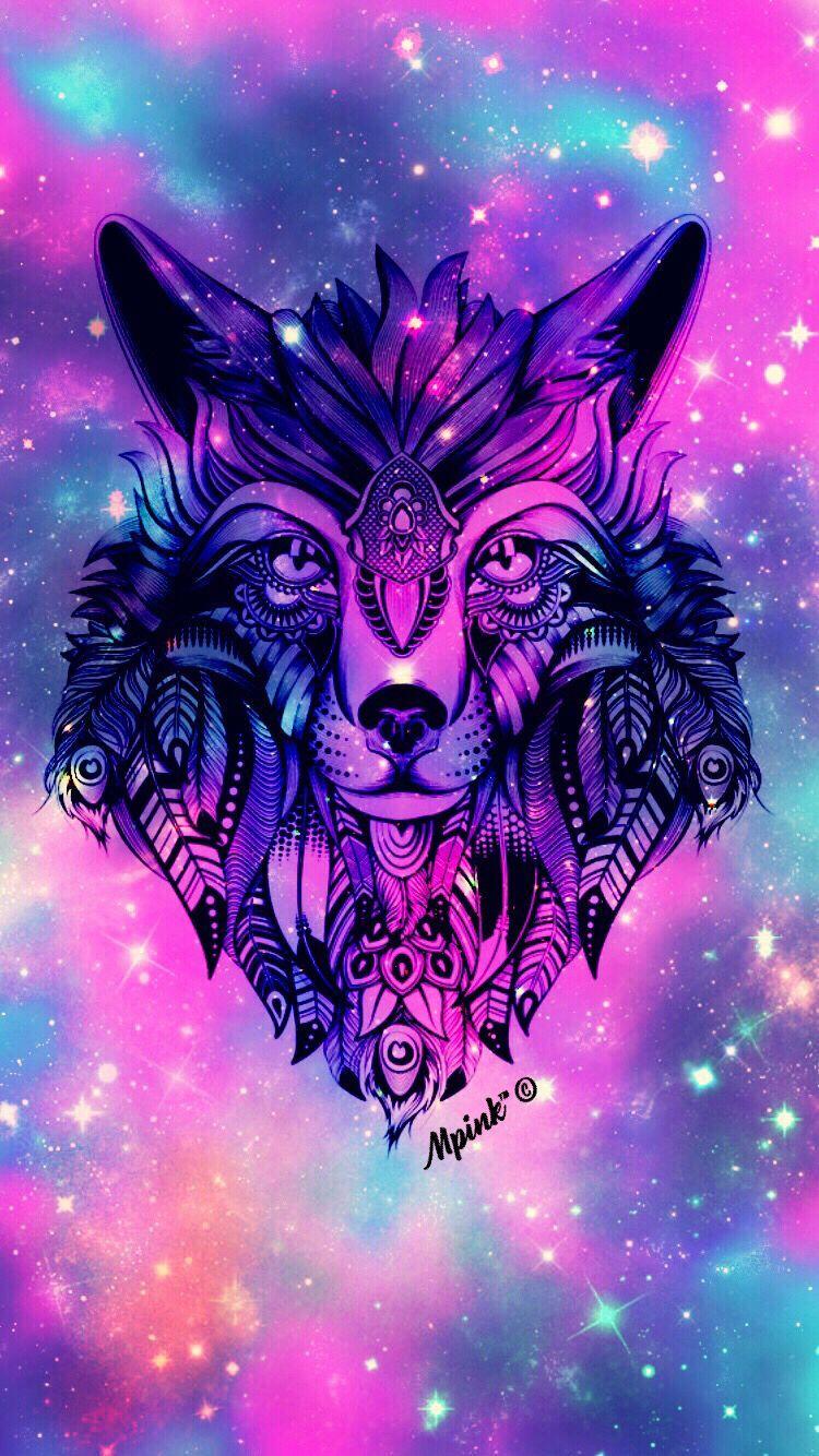 Cute Galaxy Wolf Wallpapers Top Free Cute Galaxy Wolf
